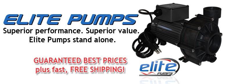Elite Pumps, Energy Saving External Pond Pumps
